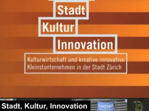 stadt kultur innovation