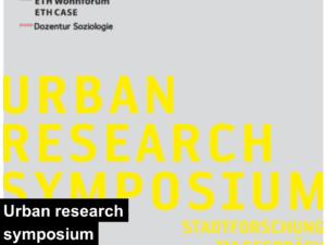 urban research symposium