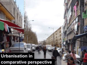 urbanisation in comparative