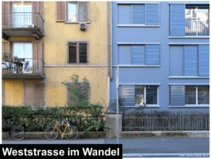 weststrasse im wandel