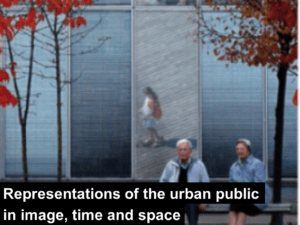 representations of the urban public in image time and space