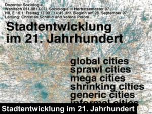 stadtentwicklung im 21 jahrhundert