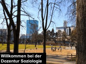 willkommen bei der dozentur soziologie