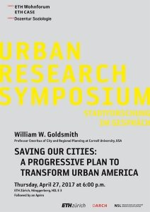 urban research symposium 2017